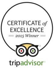 The Lakehouse Receives TripAdvisor Certificate of Excellence 2015