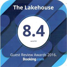 The Lakehouse Booking.com award
